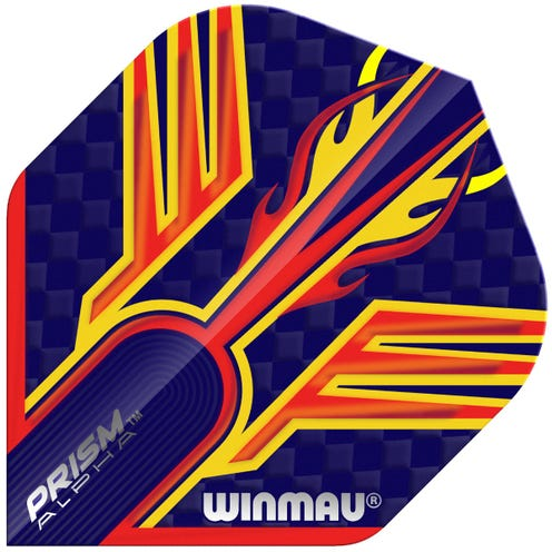 Winmau Prism Alpha Blue & Orange