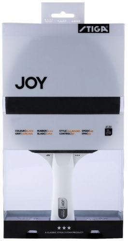 Stiga Joy 3-star Black