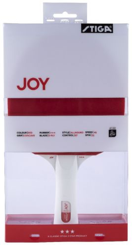 Stiga Joy 3-star Red