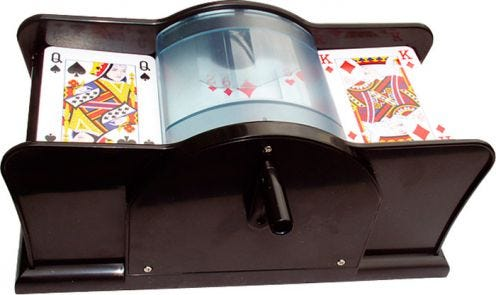 Buffalo Manual Card Shuffler