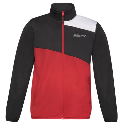 Donic Tracksuit Heat Red/Black