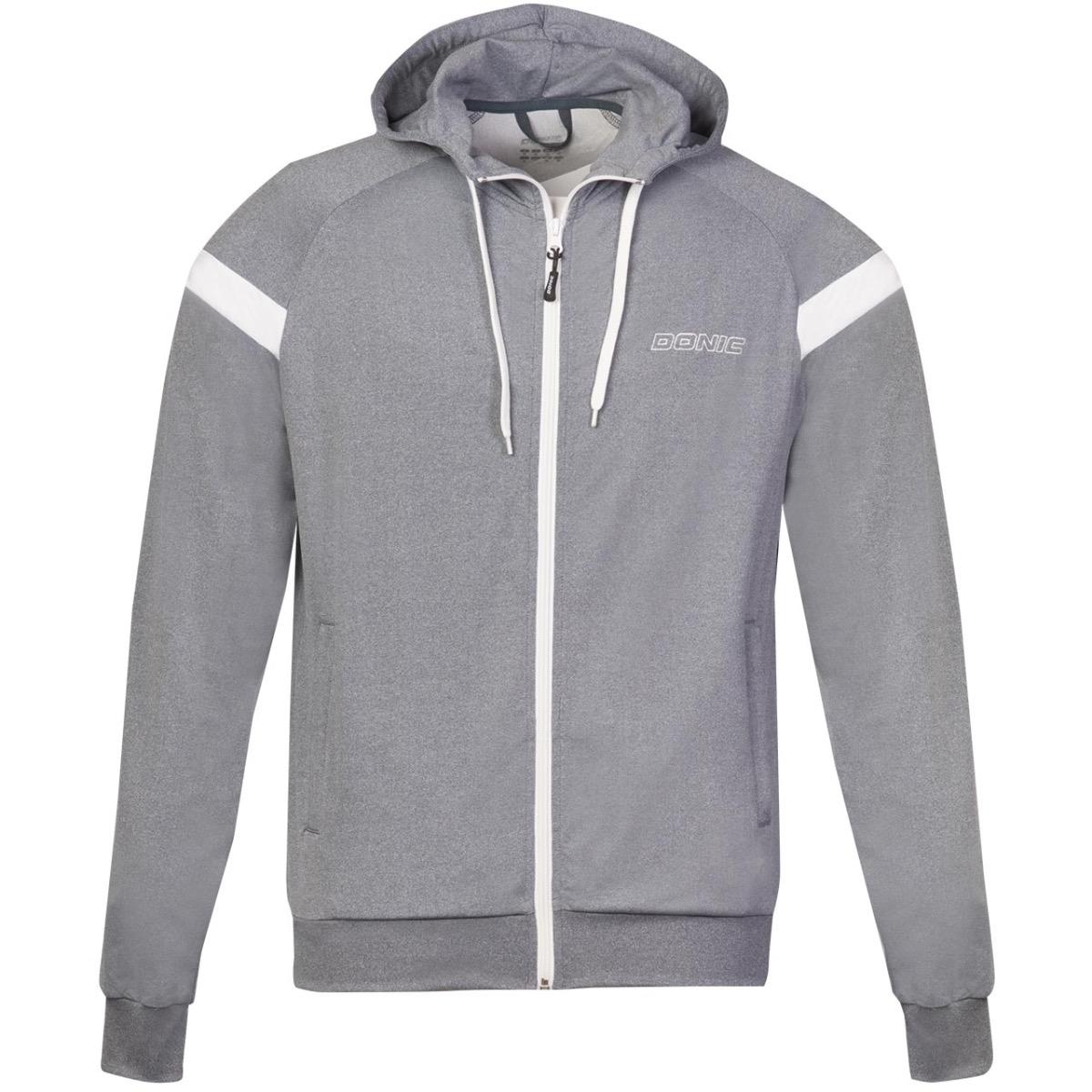 Donic Hoody Matrix Grey
