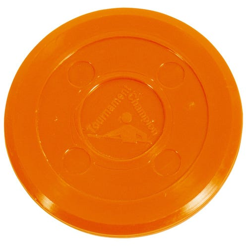 Air Hockey Puck Tournament Orange