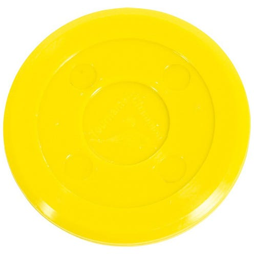 Air Hockey Puck Tournament Yellow